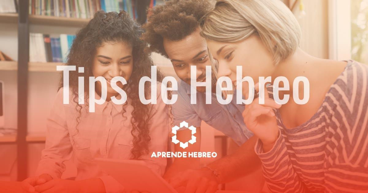 tips hebreo